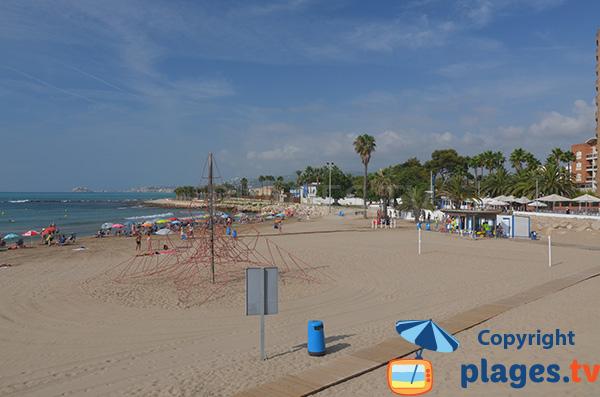 Photo de la plage de Morrongo à Benicarlo - Espagne