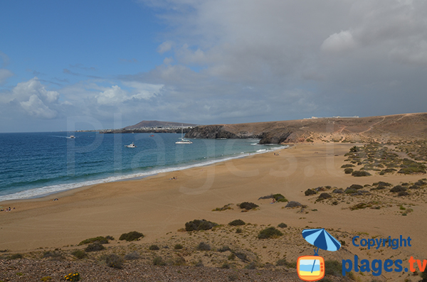 Photo of Mujeres beach in Lanzarote - Canary islands