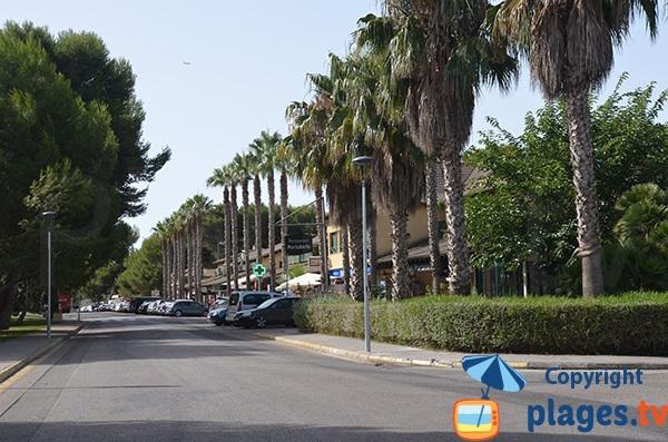 Commerces à Muro autour de la rue Joglars - Majorque