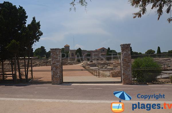Ruines d'Empuries à L'Escala - Espagne