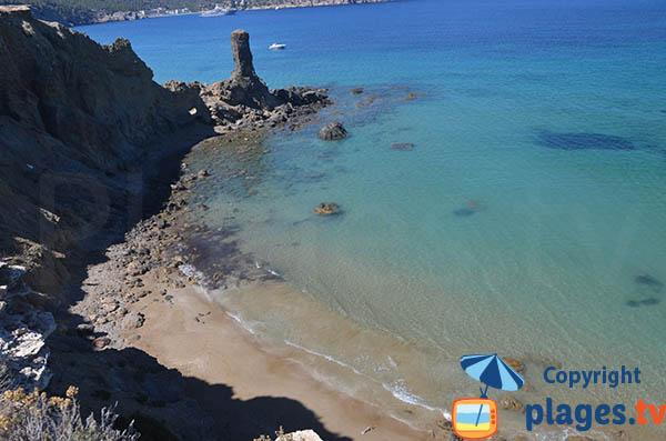 Crique naturiste entre Es Figueral et Aigua Blanca - Ibiza