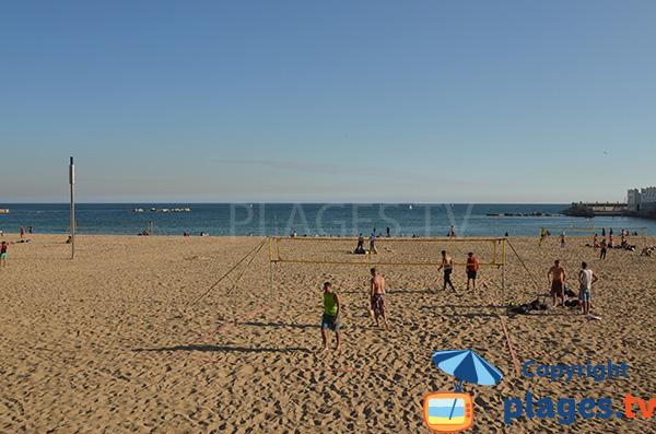 Beach Volley sur la plage Nova Icaria - Barcelone