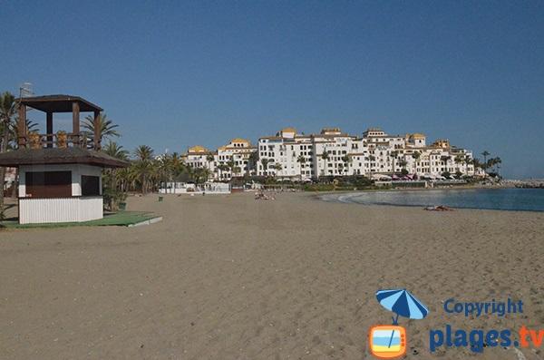 Plage Nueva Andalucia à Puerto Banus - Marbella - Espagne