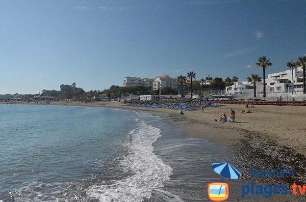 Plage à Nueva Andalucia