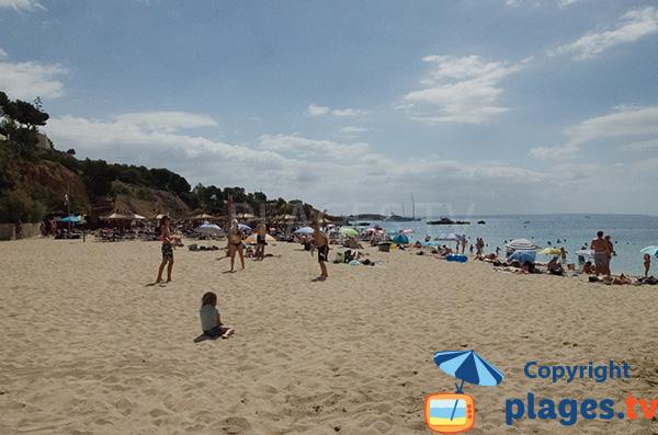 Plage de sable à Portals Nous - Majorque