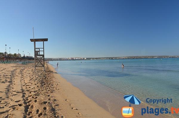Plage de Palma de Majorque - Iles Baléares