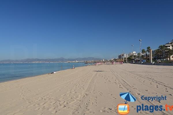 Photo de la plage de Palma de Majorque - Espagne