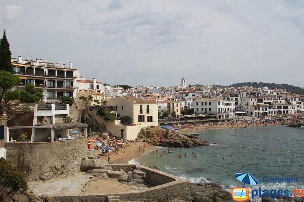 Calella de Palafrugell et les plages