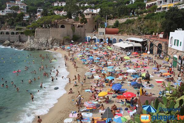 Photo de la plage de Pelegri à Calella de Palafrugell - Espagne