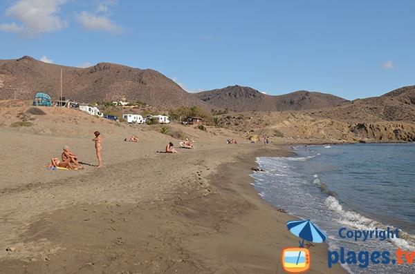 Plus belle plage du Cabo de Gata en Andalousie