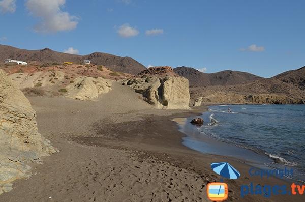 Crique de Penon Blanco à Nijar - Espagne