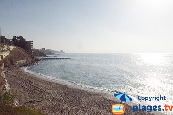 Photo de la plage de Perla à Benalmadena - Espagne