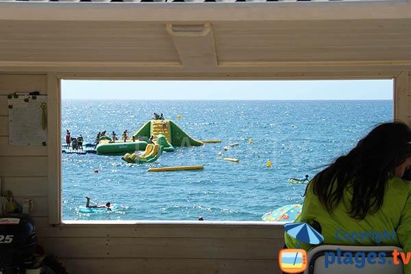 Poste de secours de la plage de Pineda de Mar
