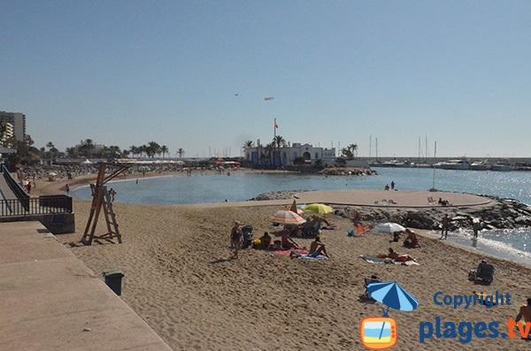 Photo de la plage du Phare à Marbella - Espagne