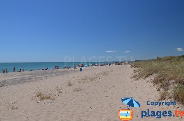 Belle plage au sud de Valence - Pinedo