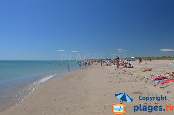 Baignade sur la plage de Pinedo Sud - Valence