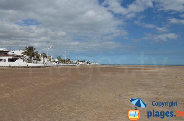 Plage à Playa Honda - Lanzarote