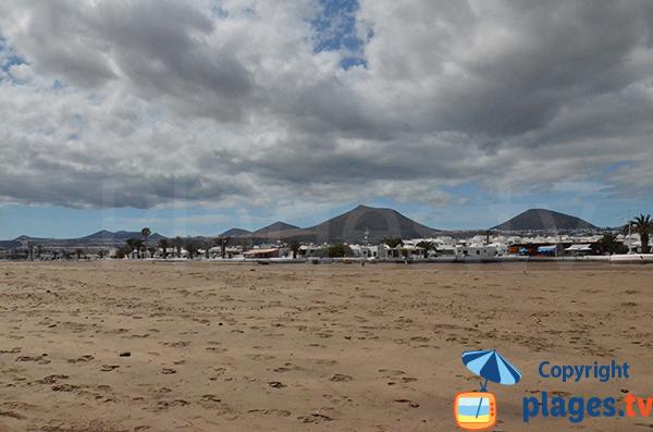 Front de mer de Playa-Honda - Lanzarote