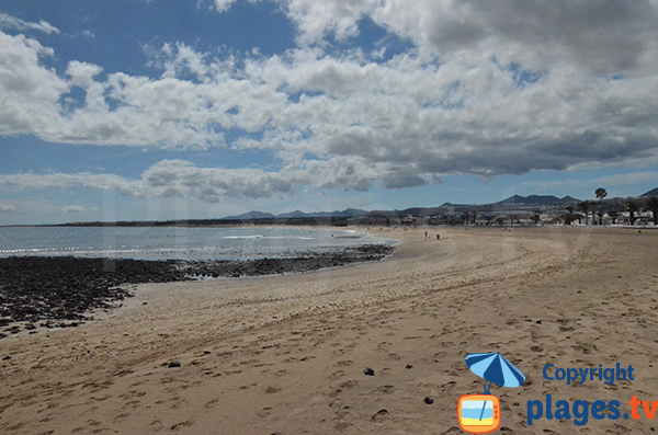 Photo de la plage de Playa Honda à Lanzarote