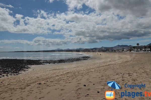 Photo de la plage de Playa Honda à Lanzarote