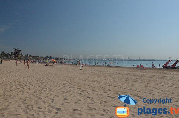 Photo de la plage de Pineda - Tarragone