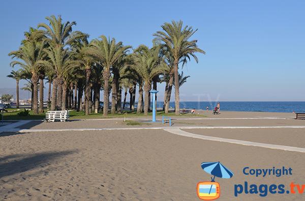 Accès à la plage de Playamar - Torremolinos
