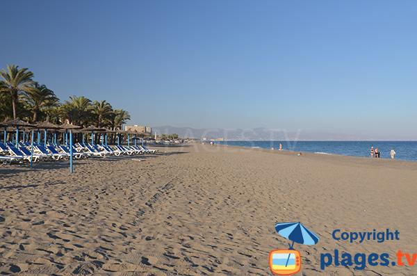 Photo de la plage de Playamar à Torremolinos en Espagne