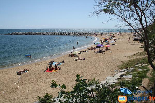 Ponent beach in Mataro - Spain