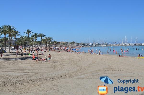 Plus belle plage d'Es Arenal - Majorque