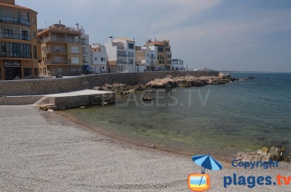 Photo de la plage de Port d'en Perris à l'Escala - Espagne