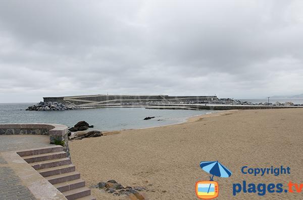 Plage du Port à Mutriku - Pays Basque Espagne