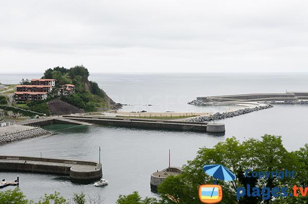 Photo de la plage du Port à Mutriku - Pays Basque Espagne