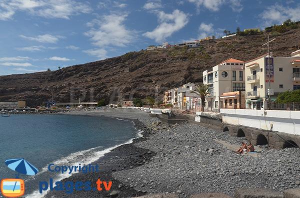 Plage du Port de Playa de Santiago - La Gomera