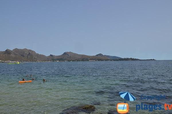 Cap de Formentor vue depuis la plage