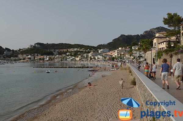 Plage à proximité du port de Soller - Ile de Majorque