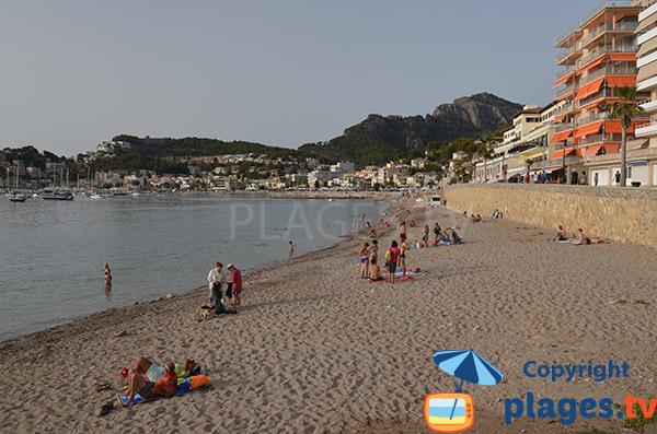 Photo de la plage de Port Soller à Majorque
