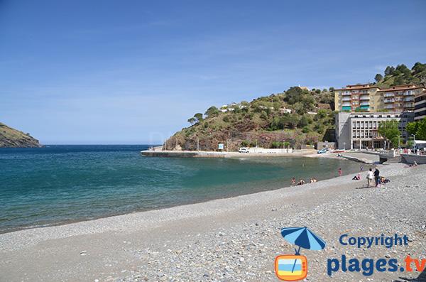 Première plage espagnole en venant de la france