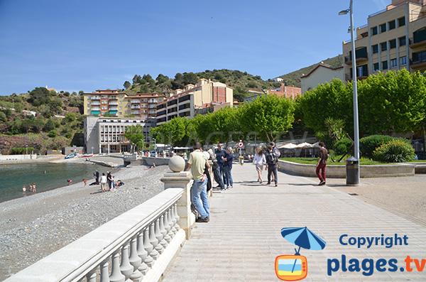 Photo de la plage dans le centre-ville de Portbou