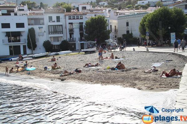 Cove in Cadaques in Spain