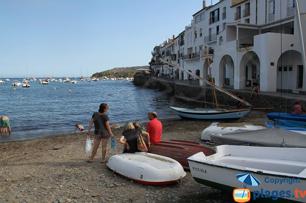 Walk along the beach from Portdoguer to Cadaques