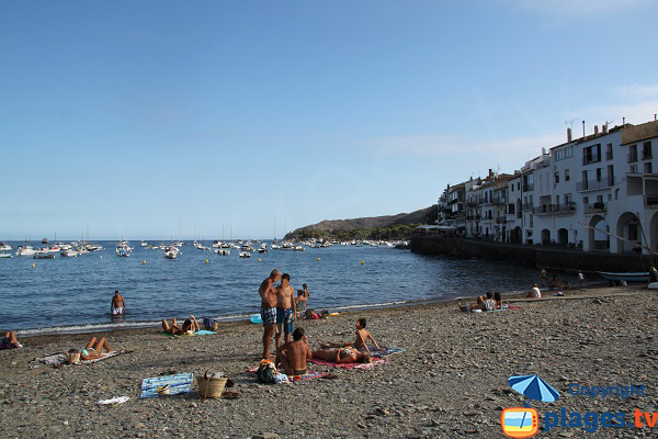 Photo of Pordoguer beach in Cadaques in Spain