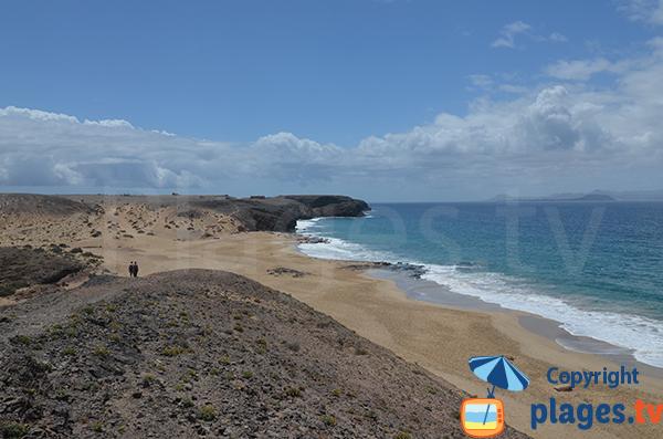 Plage sauvage au sud de Lanzarote - Pozo