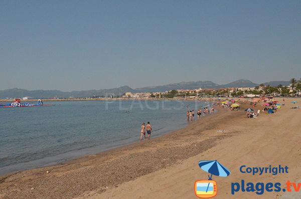 Photo de la plage de Prat d'en Fores à Cambrils - Espagne