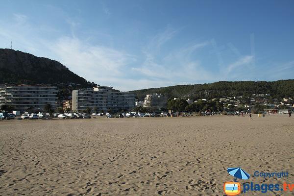 Vaste plage à l'Estartit