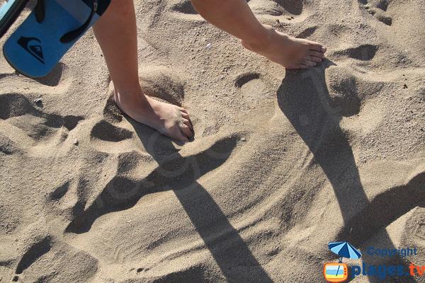 Plage de sable fin à l'Estartit