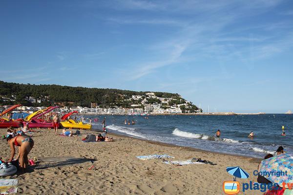Photo de la plage de l'Estartit en Espagne