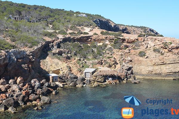 fishermen's huts - Punta Galera - Ibiza