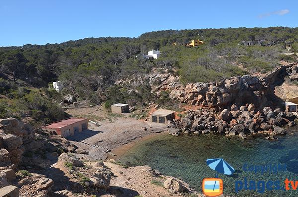Photo of Punta Galera beach in Sant Antoni - Ibiza
