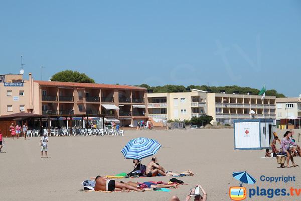 Constructions autour de la plage de Raco - Begur