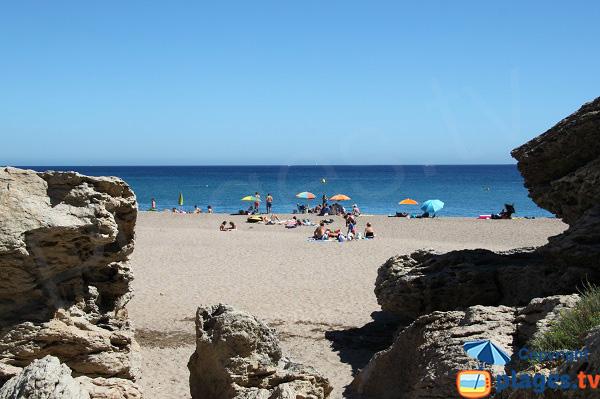 Rochers autour de la plage du Raco - Begur